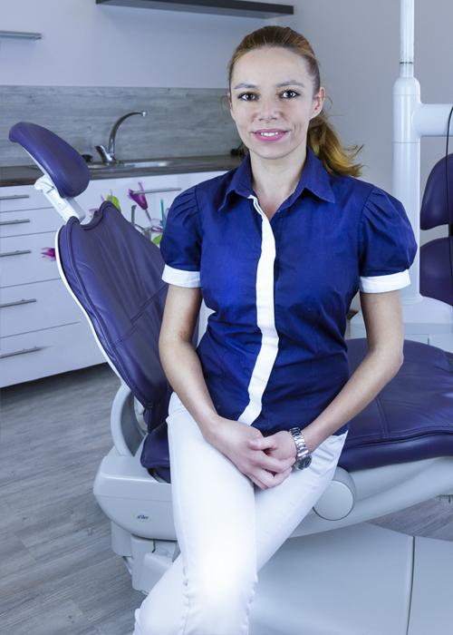 Lucia Oremusová zubná asistentka